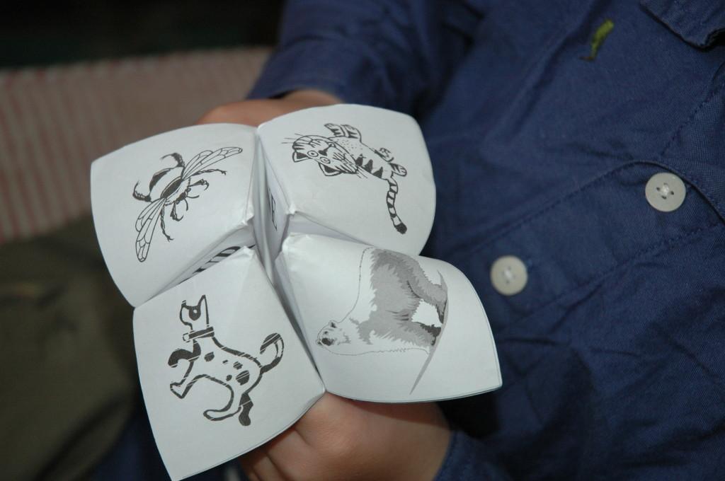 Valentines Day Fortune Teller Kids Craft