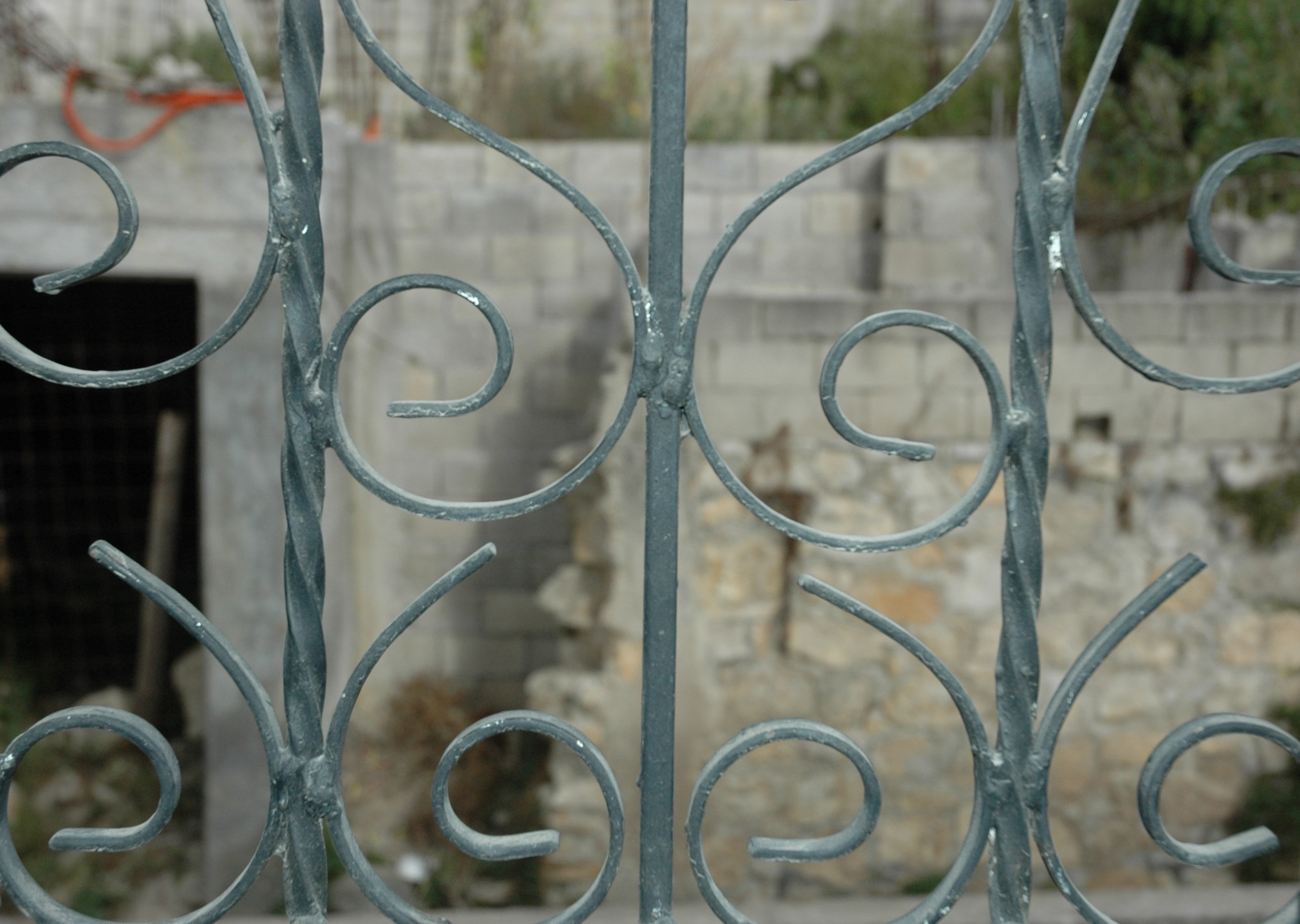 locked in house window bars mexico