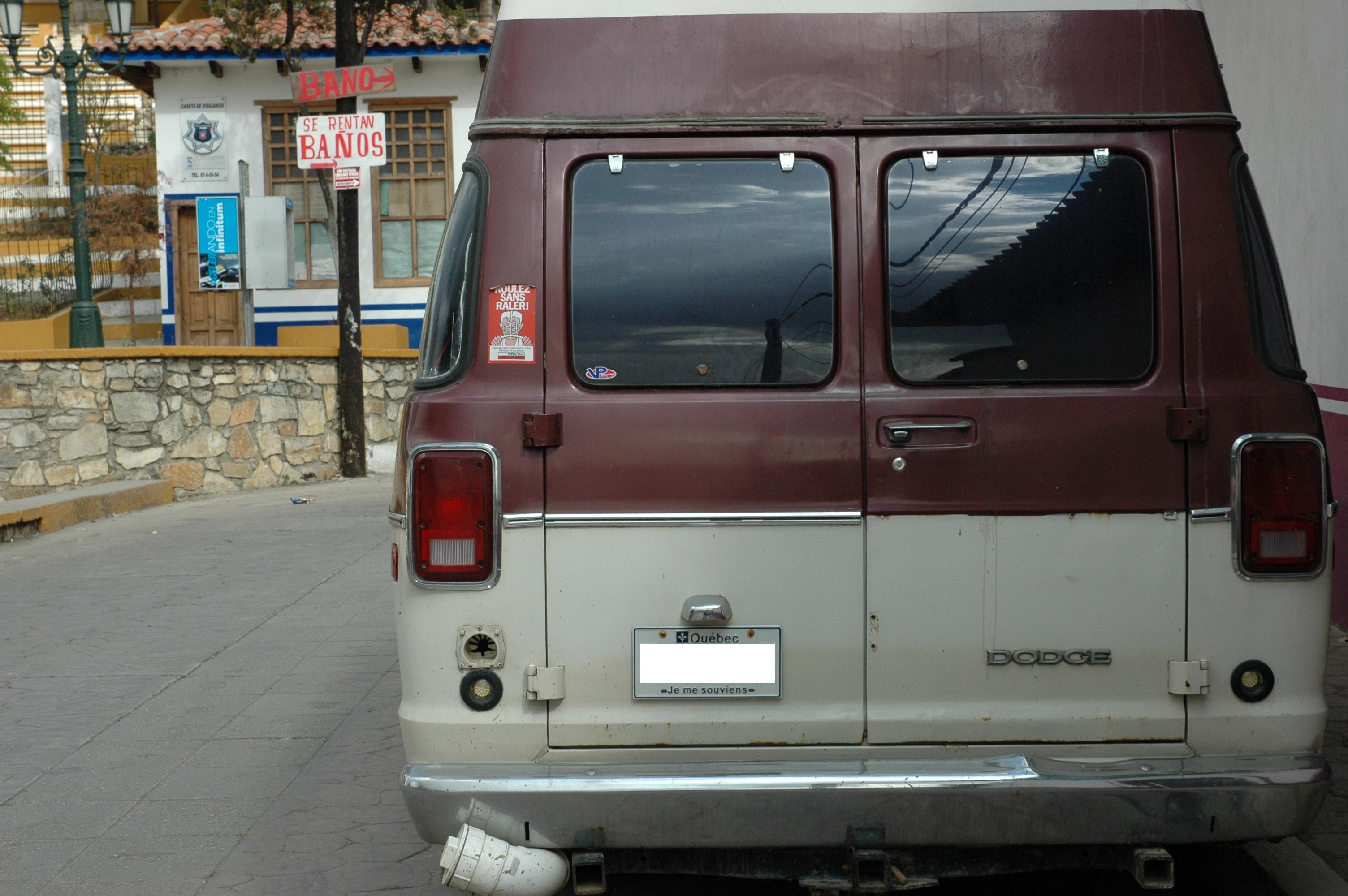 Quebec Van in San Cristobal de Las Casas, Chiapas, Mexico