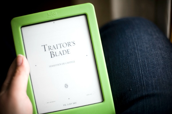 Traitors Blade Book Tour Penguin Canada Ebook Reader