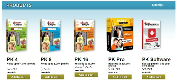 Picture Keeper Products