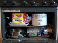 Picture of the Inside of My Stove Mexico