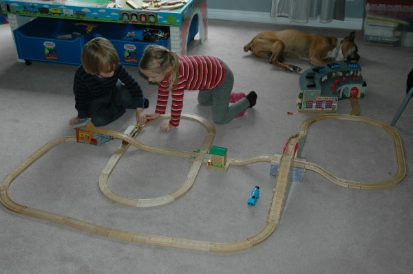 Max's Train Track Creations1
