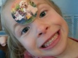 Artemis with a 158 dollar sticker on her forehead