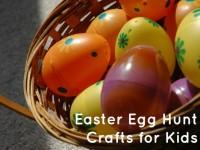 Easter Egg Hunt Crafts for Kids