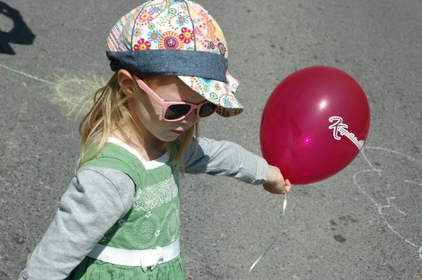 Dandelion Festival Artemis Balloon