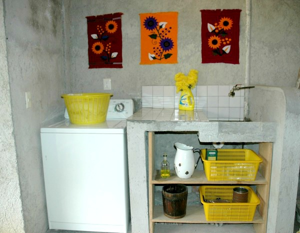 After my Sunlight Laundry Room Makeover