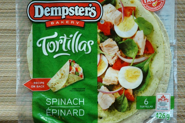 Dempsters Tortillas Spinach