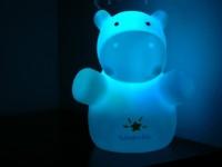 KinderGlo Hippo Night Light