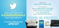 LeonsSuperSale Twitter Party