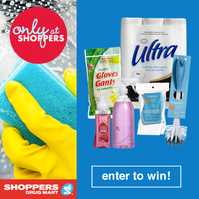 Shoppers Drug Mart This Summer Campaign Cleaning Prize Pack