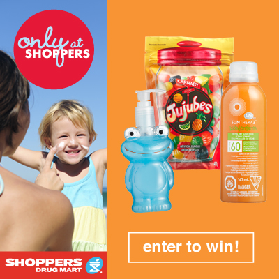 Shoppers Drug Mart This Summer Campaign Family Prize Pack