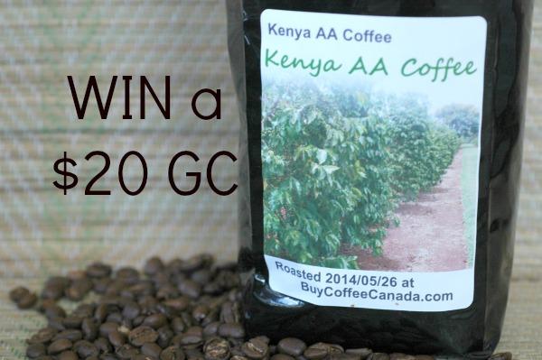 Buy Coffee Canada Kenyan Coffee Text