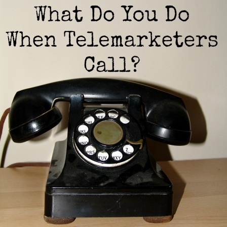 Rotary Phone Telemarketers
