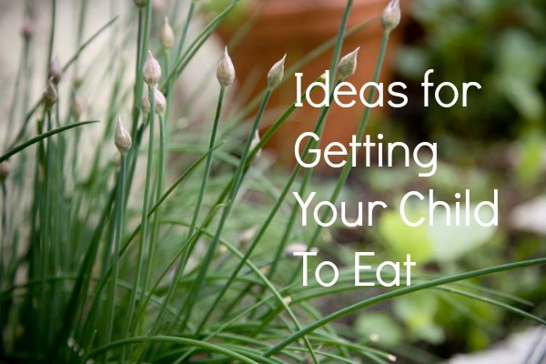 Getting Your Kids to Eat