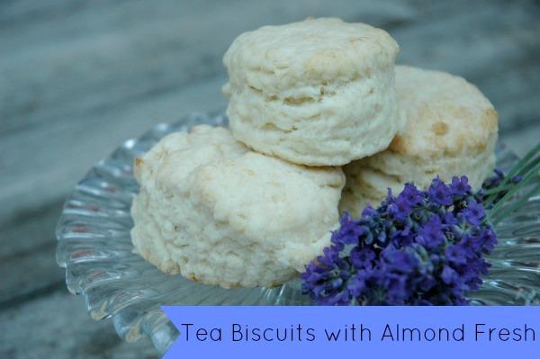Almond Fresh Tea Biscuits