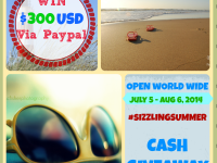 SizzlingSummer Cash Giveaway Button