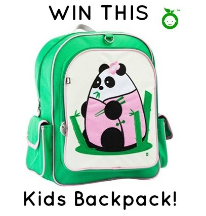 Baby Joy Organic-Fei Fei Panda Backpack