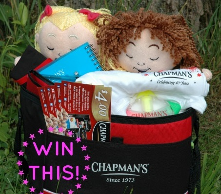 Chapmans Ice Cream Prize Pack