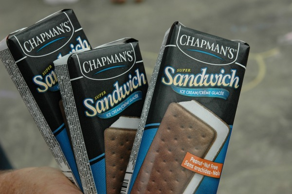 Chapmans Ice Cream-Sandwich Bars