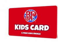Boston Pizza Kids Cards