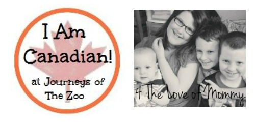 I Am Canadian Feature for September is Jessica at 4 The Love of Mommy