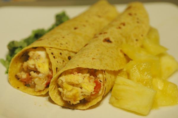 Egg Burrito Dempsters Corn Tortillas