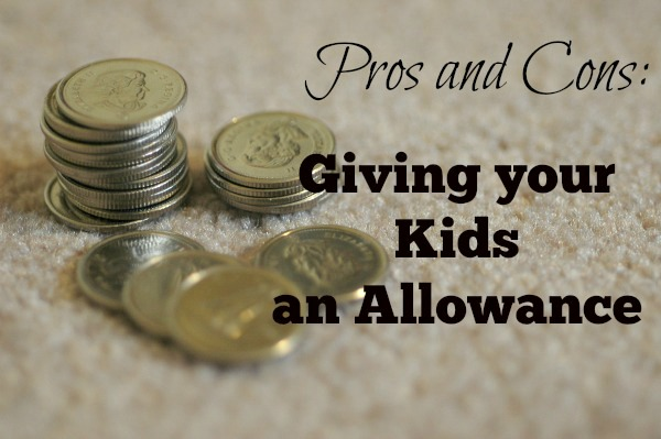 Giving Kids an Allowance1