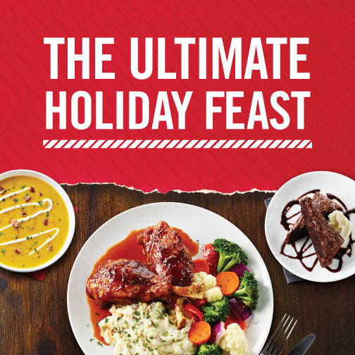 Boston Pizza Festive Menu
