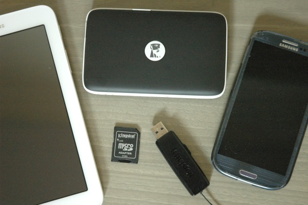 Kingston MobileLite Wireless G2 Functionality