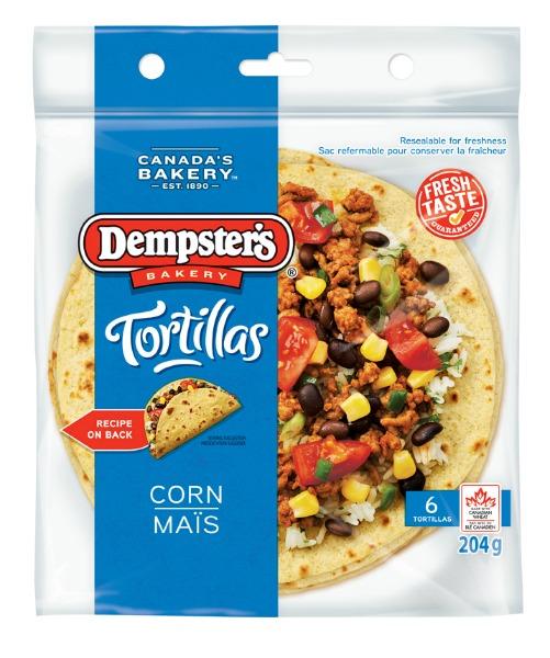 Dempsters Corn Tortillas Mexican Tacos Dorados