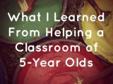 Helping in the Classroom-600