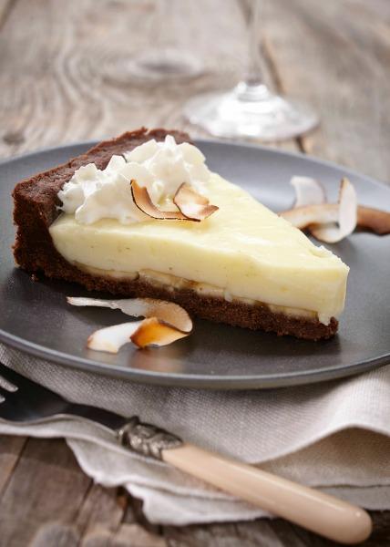 Banana Cream Pie Gay Lea Coconut Whipped Cream