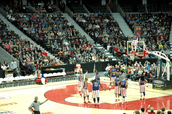 Harlem Globetrotters Show Canadian Tire Centre Ottawa