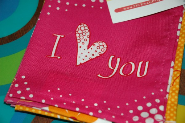 PickmeUp Napkins-I Love You