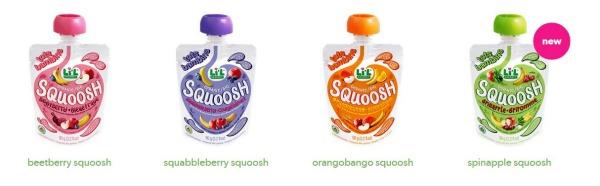 Squoosh Snacks Baby Gourmet