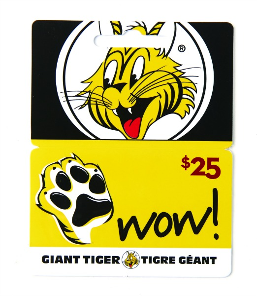 Giant Tiger Gift Card5