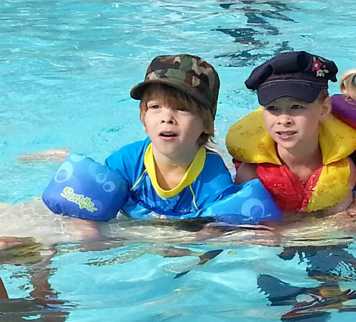 The Kids-Swimming Lessons-July 2015