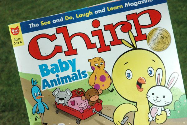 owlkids books magazine-chirp