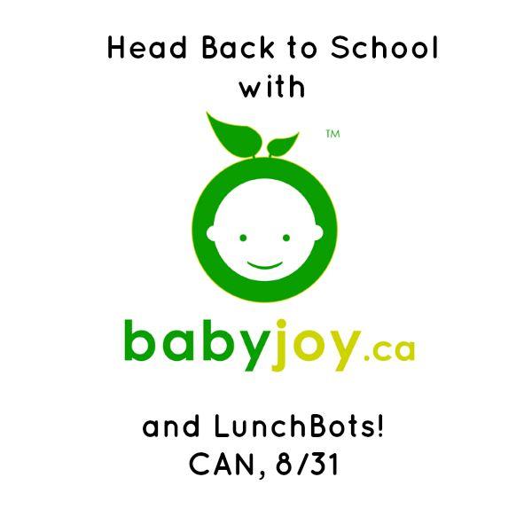 BabyJoy-LunchBots Giveaway Logo