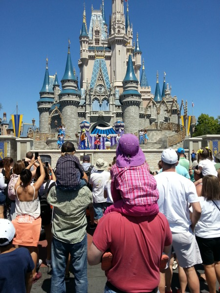 Walt Disney World Castle April 2015
