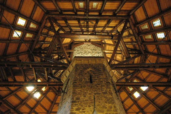 Outaouais-Chateau Montebello-Fireplace