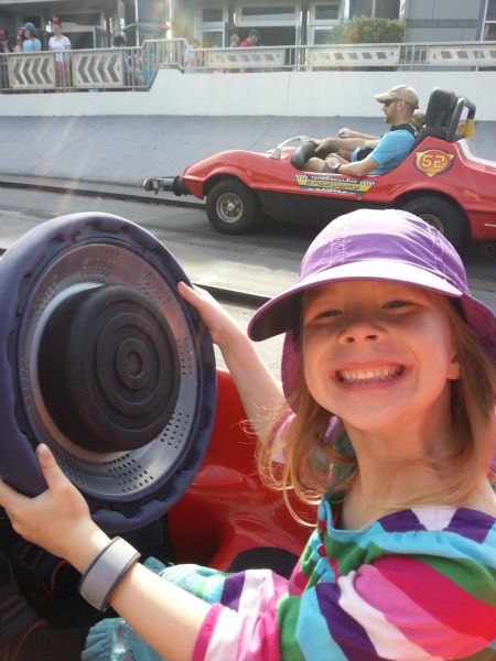 Walt Disney World Racecars