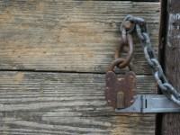 Stock-Door Lock