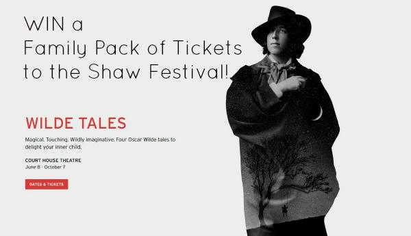 Shaw Festival Oscar Wilde Play Giveaway