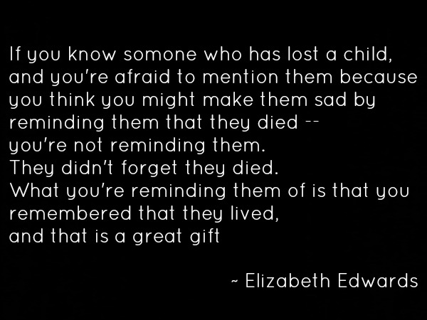 Loss Quote - Elizabeth Edwards