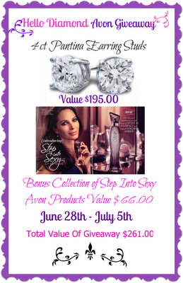 Hello Diamond Avon Group Giveaway