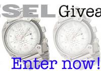 Mens Watch Diesel Giveaway