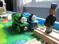 Thomas the Train and Sir Topham Hatt