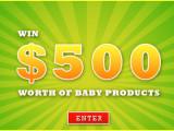 Baby Organic Joy Giveaway